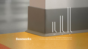 Thermoset Baseworks Wall Base