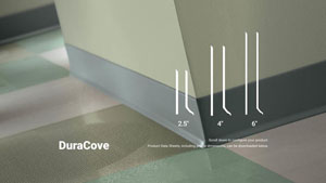 Dura Cove Rubber Wall Base